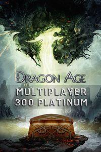 Carátula del juego Dragon Age Multiplayer 300 Platinum