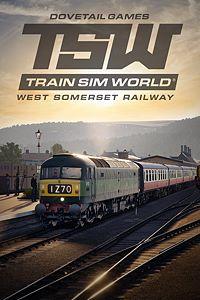 Carátula para el juego Train Sim World: West Somerset Railway de Xbox 360
