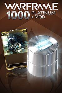 Carátula del juego Warframe: 1000 Platinum + Rare Mod para Xbox One
