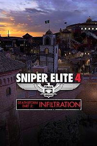 Carátula del juego Sniper Elite 4 - Deathstorm Part 2: Infiltration de Xbox One