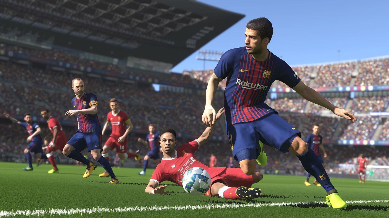 Pro Evolution Soccer 2018 Install Size Screenshot