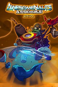 Carátula del juego Ahrpl - Awesomenauts Assemble! Skin de Xbox One