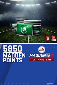 Carátula del juego 5850 Madden NFL 18 Ultimate Team Points