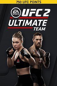 Carátula del juego EA SPORTS UFC 2 - 750 UFC POINTS