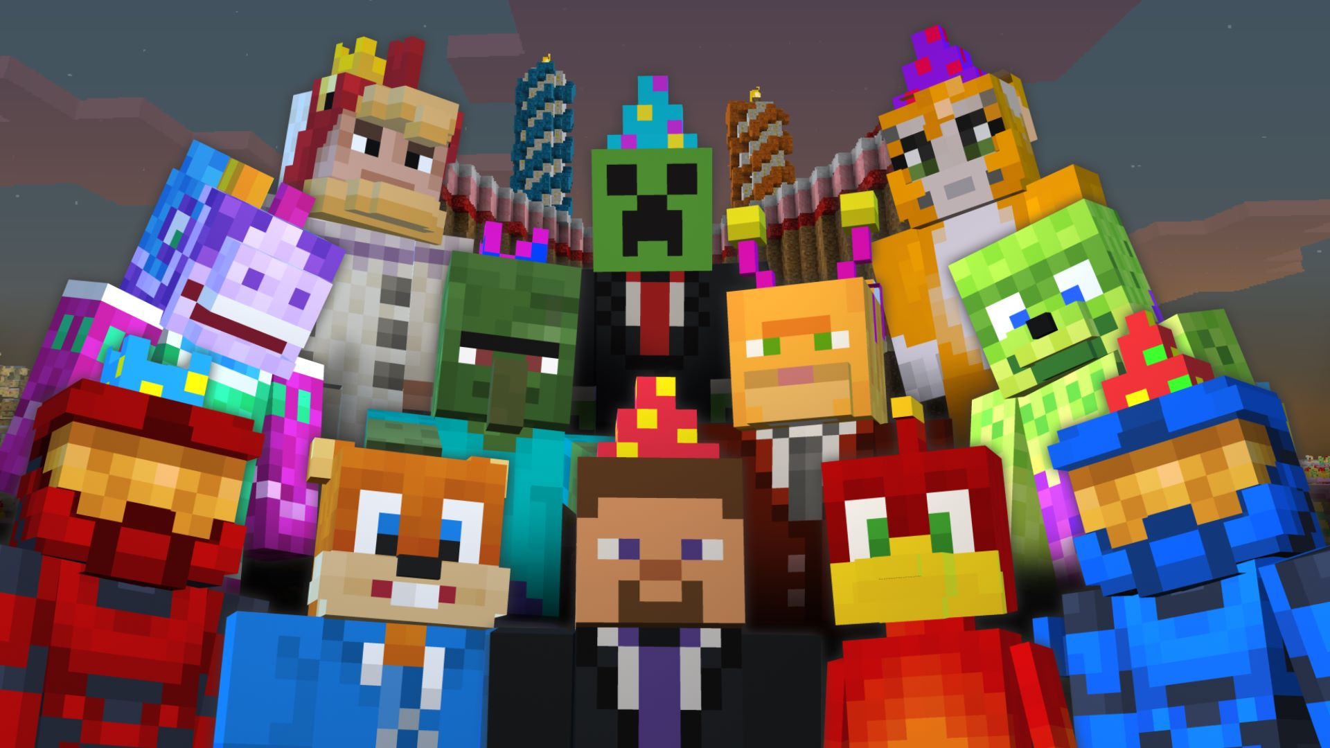 FREE Minecraft Birthday Skin P...