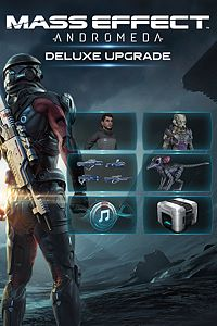 Carátula del juego Mass Effect: Andromeda Deluxe Upgrade