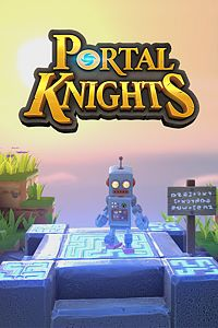 Carátula del juego Portal Knights - Bibot Box