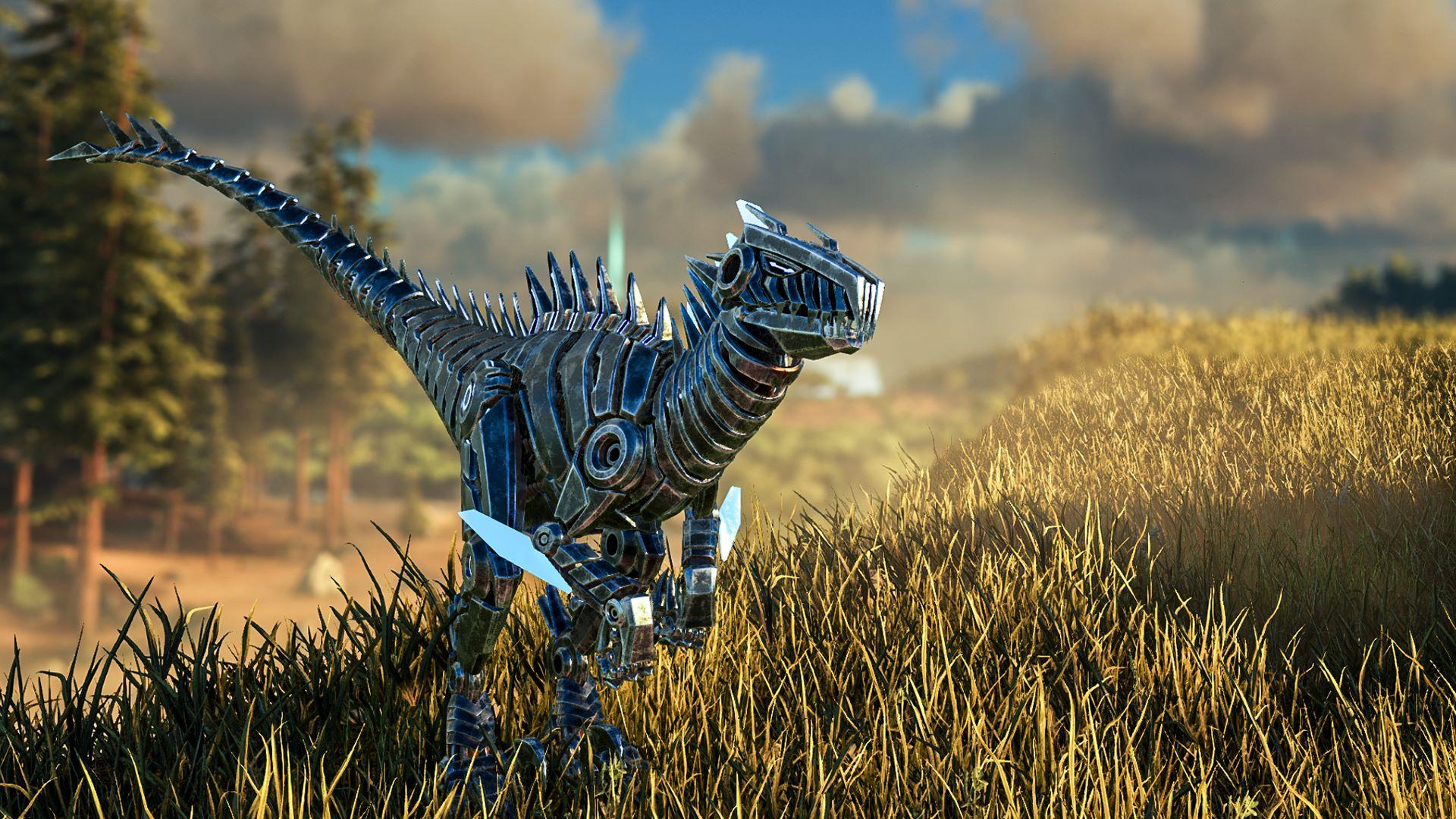 Buy Ark Survival Evolved Bionic Raptor Skin Microsoft Store En Ca