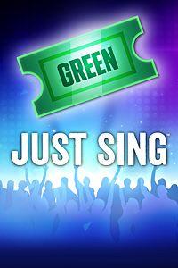 Carátula del juego Just Sing - Green Ticket de Xbox One