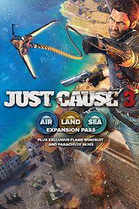 Carátula para el juego Just Cause 3: Air, Land & Sea Expansion Pass de Xbox One