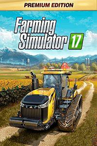 Carátula para el juego Farming Simulator 17 - Premium Edition de Xbox One