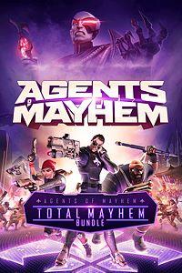 Carátula para el juego Agents of Mayhem - Total Mayhem Bundle de Xbox One