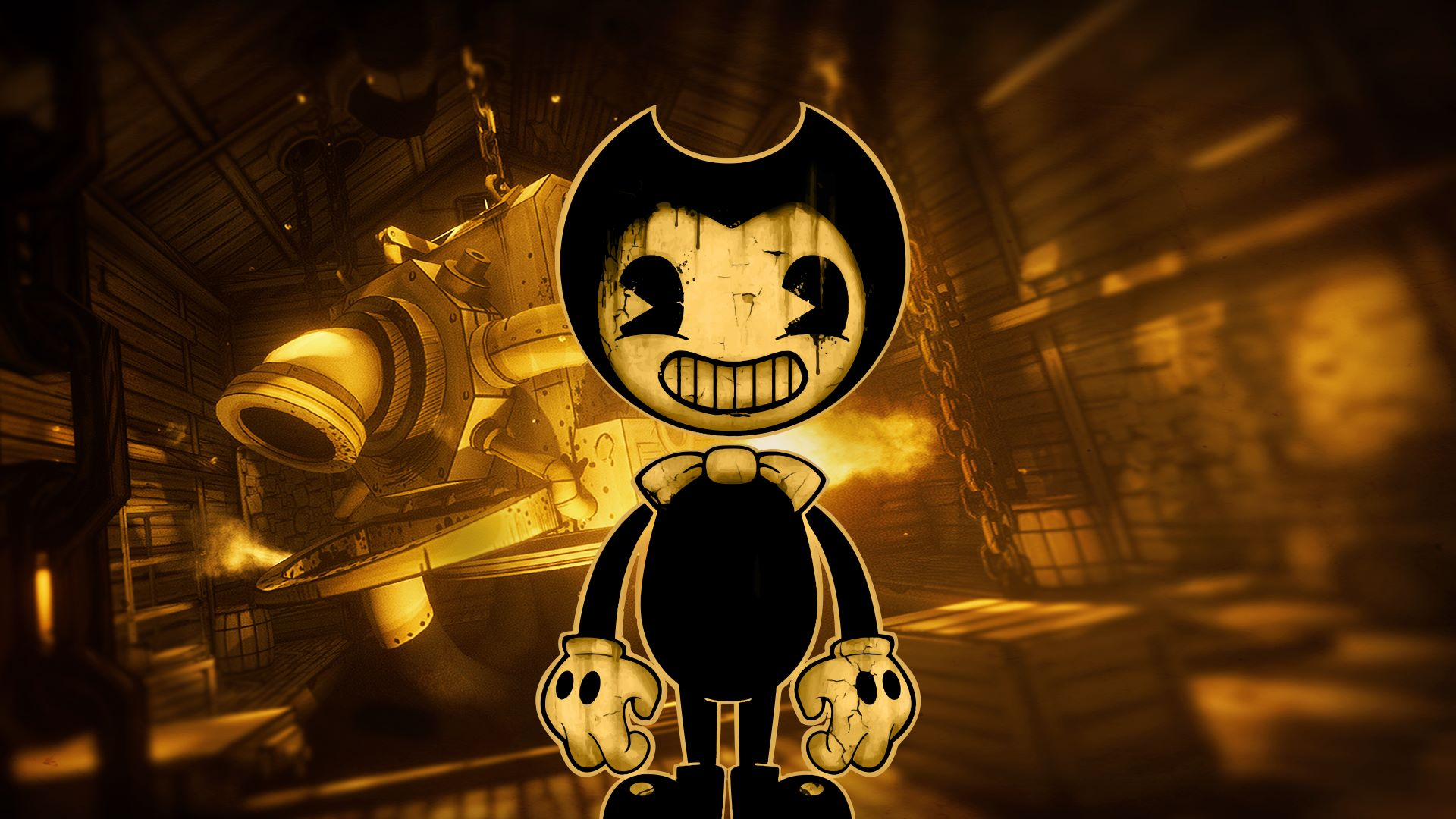 Image result for BENDY AND THE INK MACHINE