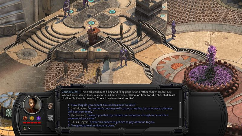 Torment: Tides of Numenera Screenshot