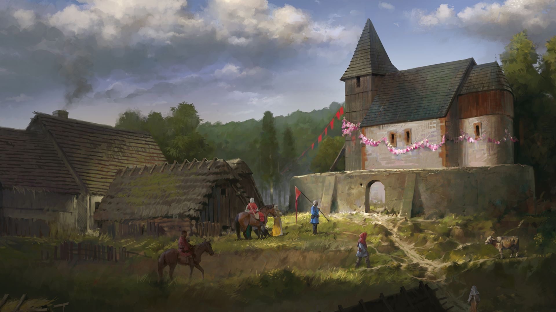 Kingdom Come: Deliverance - From the Ashes on PS4
