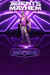 Carátula del juego Agents of Mayhem - Johnny Gat Agent Pack