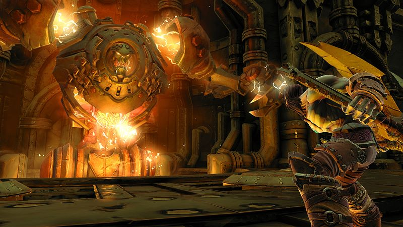Darksiders Fury's Collection - War and Death Screenshot