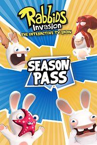 Carátula del juego RABBIDS INVASION - SEASON PASS de Xbox One