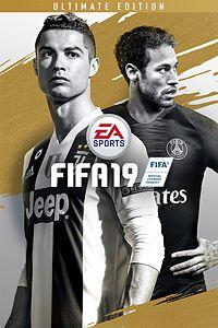 Carátula del juego FIFA 19 Ultimate Edition
