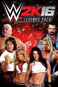 Carátula del juego WWE 2K16 Legends Pack de Xbox One