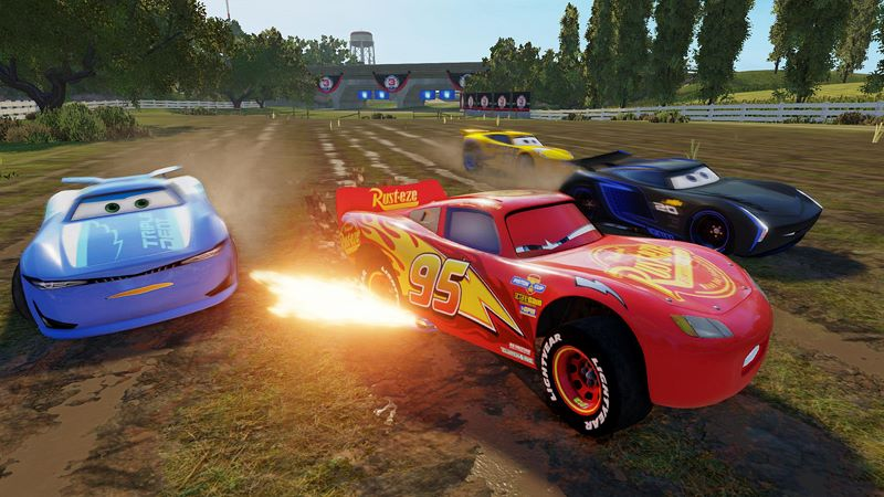 Cars 3: Driven to Win Screenshot