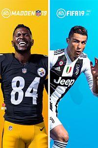 Pacote Madden NFL 19 e FIFA 19