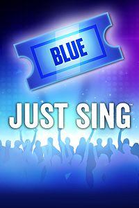 Carátula del juego Just Sing - Blue Ticket de Xbox One