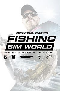Carátula del juego Fishing Sim World: Pre-order Pack