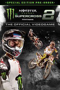 Carátula del juego Monster Energy Supercross 2 - Special Edition Pre-order
