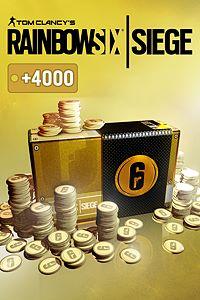 Carátula del juego TOM CLANCY'S RAINBOW SIX SIEGE: 16000 (12000 + 4000 bonus) R6 CREDITS