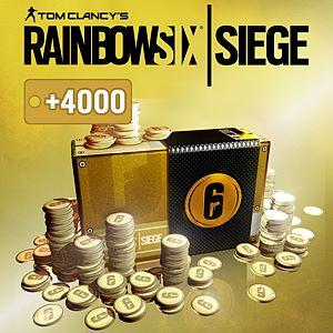 TOM CLANCY'S RAINBOW SIX® SIEGE: 16.000 (12.000 + 4.000 bonus) R6 KREDİSİ Xbox One