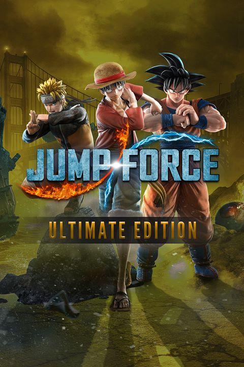JUMP FORCE - Ultimate Edition Pre-Order Bundle box shot
