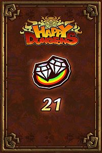 Carátula del juego 21 Happy Jewels de Xbox One