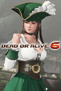 Carátula del juego DOA6 Pirates of the 7 Seas Costumes Vol.1 - Hitomi