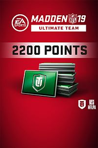 Carátula del juego Madden NFL 19 Ultimate Team 2200 Points Pack
