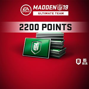 Madden NFL 19 Ultimate Team 2200 Points Pack Xbox One
