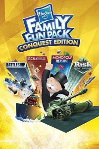 Carátula del juego Hasbro Family Fun Pack Conquest Edition de Xbox One