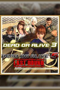 Carátula del juego DEAD OR ALIVE 5 Last Round DOA3 Music
