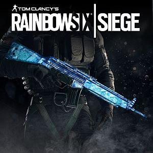 Tom Clancy's Rainbow Six Siege: Cobalt Weapon Skin Xbox One