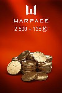 Carátula del juego Warface - 2500 Kredits