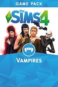 Carátula del juego The Sims 4 Vampires