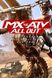 Carátula para el juego MX vs ATV All Out de Xbox One
