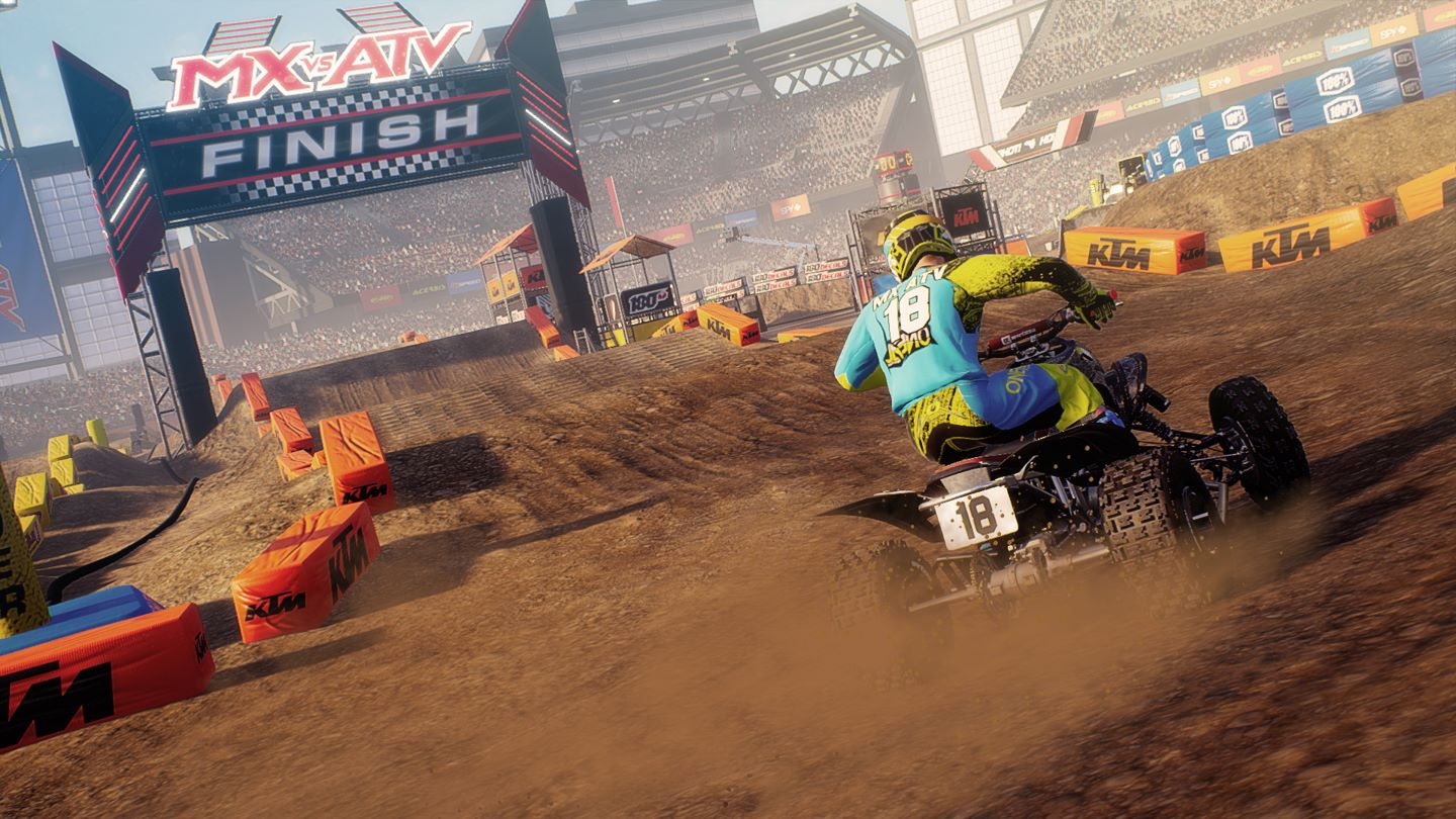 MX vs ATV All Out Install Size Screenshot