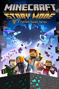 Carátula del juego Minecraft: Story Mode - Episode 1: The Order of the Stone de Xbox One