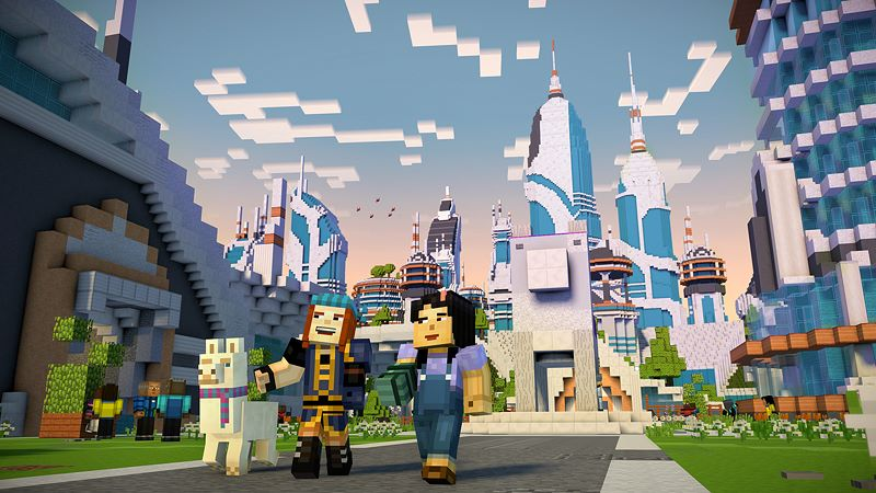 Minecraft: Story Mode - Season Two - The Complete Season (Episodes 1-5) Screenshot