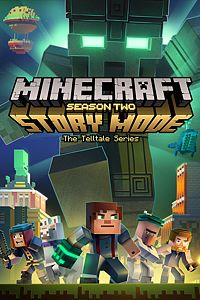 Carátula del juego Minecraft: Story Mode - Season Two - The Complete Season (Episodes 1-5) de Xbox One