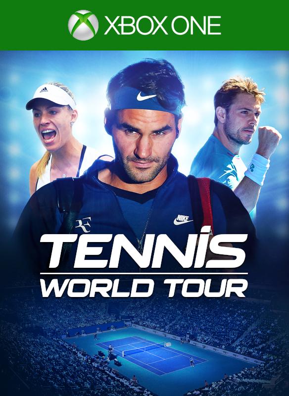 Tennis World Tour boxshot
