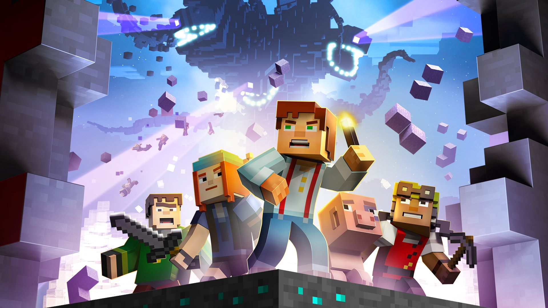Buy Minecraft Story Mode The Complete Season Episodes - Minecraft dragon spiele