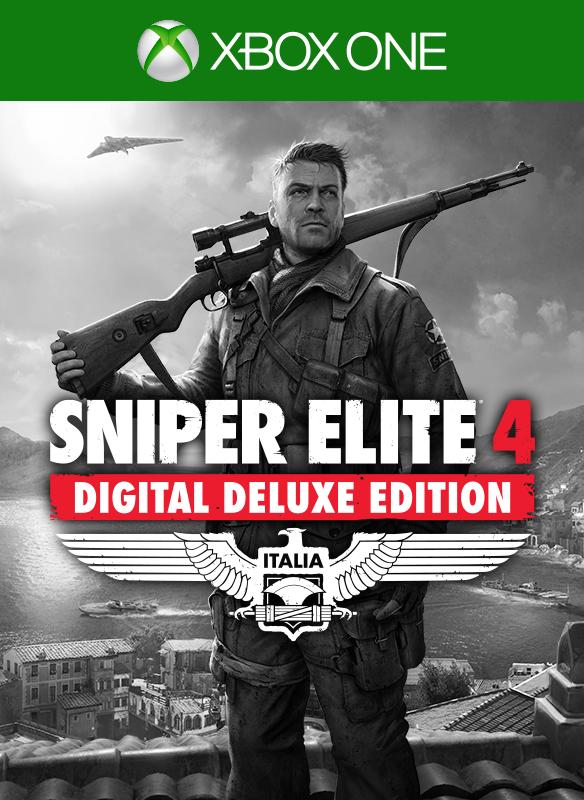Sniper Elite 4 Deluxe Edition boxshot