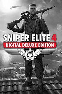 Carátula para el juego Sniper Elite 4 Digital Deluxe Edition de Xbox 360